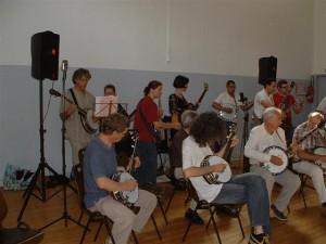Elèves banjo Ris Orangis