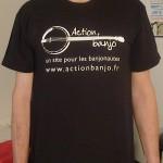 T-shirt action banjo homme