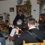 De gauche à droite : Eric, Patrick, Michel, Thierry et Alain