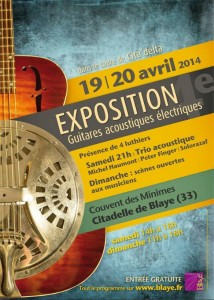EXPO GUITARES BLAYE