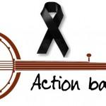 action banjo ruban noir